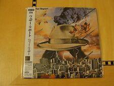 Weather Report - Heavy Weather - Japan Mini LP CD SME SRCS 9639