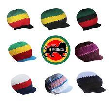 Rasta Rastafari Hat Cap Rastacap Reggae Jamaica Hats Dreadlocks 100% Cotton M/L