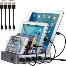 Simicore Charging Station Dock Organizer for Smartphones, Tablets, etc.