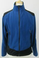 REI WindPro Zip-Up Lightweight Soft Shell Jacket, Large, Royal Blue & Black