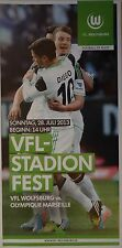 Flyer Friendly 28.7.2013 VfL Wolfsburg - Olympique Marseille