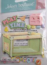 JOLEE'S BOUTIQUE PLAYPEN AND TOYS Baby Scrapbook Craft Sticker Embellishment