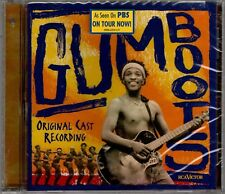 "VINCENT NCABASHE ""GUMBOOTS"" ORIGINAL CAST RECORDING CD 2000 rca sealed"