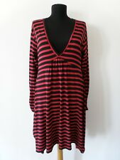 THE MASAI CLOTHING COMPANY Red/Black Striped Dress Size M