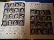 1957 Charlotte Memorial School of Nursing Yearbook LAMP North Carolina Original
