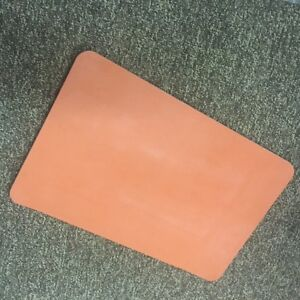 """(12)3/16""""Silicone Rubber Sheets 8.5""""x10.13"""" Food Grade High Temp gasket material"""