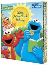 Sesame Street Little Golden Book Library by Sarah Albee, Jon Stone (Hardback,...