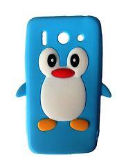 AZUL CLARO SILICONA PINGUINO Funda para teléfono / Huawei Ascend G510