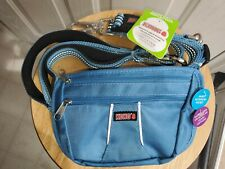 Kong Dog Leash Blue 6 Feet Long Comfort + Reflective Accessory Pocket  New