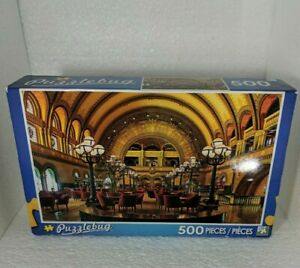 New Puzzlebug 500 piece puzzle features St Louis Union Station sealed box