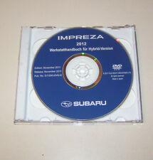 Werkstatthandbuch auf DVD Subaru Impreza - Stand 2012!