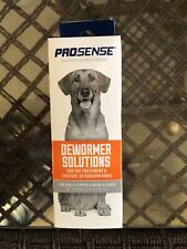 Pro-Sense Liquid Dewormer For Dogs & Puppies 6 Weeks and Older, 4oz NEW