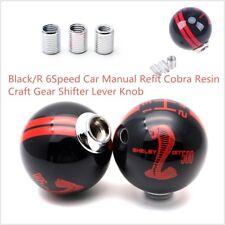 6 Speed Car Manual Auto Refit Cobra Resin Craft Gear Shifter Lever Shift Knob