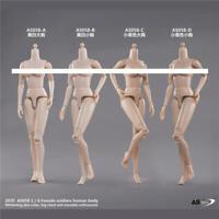 "ASTOYS 1/6 Girl Figure Body Model Flexible Soldier Dll 12"" Female Action Presale"