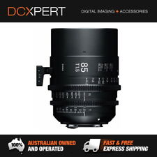 Sigma 85mm T1.5 FF High-speed Prime (sony E Mount) Cine Lens