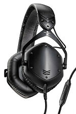V-MODA Crossfade Lp2 DJ Headphones in Matte Black Metal