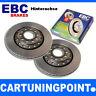 EBC Discos de freno eje trasero PREMIUM DISC PARA MITSUBISHI SANTAMO D672