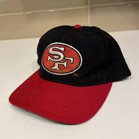 Vintage San Francisco 49ers Starter Logo Hat Snapback Retro NFL 80s 90s Wool