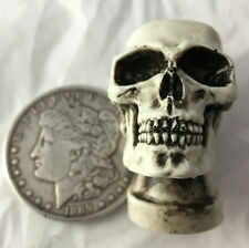 Made n USA 1/4x20 Skull Nut Skeleton Hot Rat Street Rod Hearse Air Cleaner 29T-N