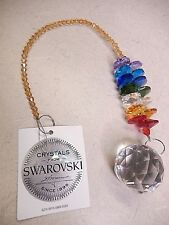 Crystal Suncatcher Made with Swarovski Rainbow Colors New 12""