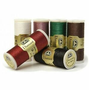 DMC Diamant Sparkle Thread 38.2yd, Choose Your Color