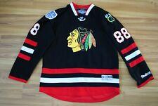 CHICAGO BLACKHAWKS NHL REEBOK SHIRT JERSEY # 88 KANE SIZE MENS XL BLACK RARE