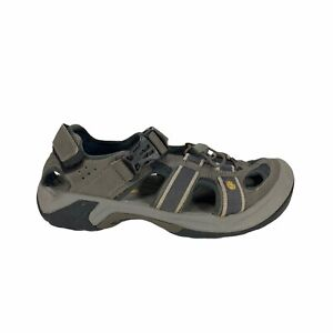 Teva Omnium Sport Sandal Mens Size 8 Closed Toe Gray Outdoor Two Strap