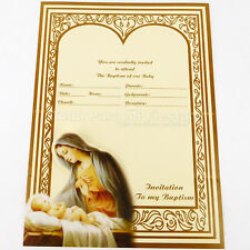 boy baptism invitations for sale ebay