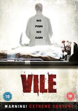 Vile DVD (2013) Maya Hazen, Sheridan (DIR) cert 18 ***NEW*** Fast and FREE P & P
