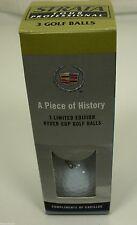 Cadillac Golf Balls Tour Pro Ltd Edition 34th Ryder Cup 2002 Strata HISTORICAL !