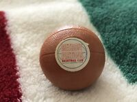 VINTAGE 1974 NBA OP DETROIT PISTONS MINI GUMBALL BASKETBALL,GREAT CONDITION