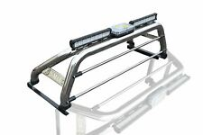 Per adattarsi 2016+ ISUZU D-MAX RODEO Roll bar + LED + LUCE FRENO + BARRE di Luce Spot