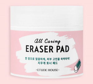 [Etude House] All Caring Eraser Pad (110 ml / 3.71 fl.oz.) (60 sheets)