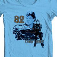 Knight Rider 82 t shirt retro 80s nostalgic tv show David Hasselhoff NBC493