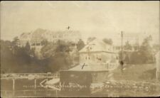 Christmas Cove ME Holly Inn & Rutherford House c1920 Real Photo Postcard