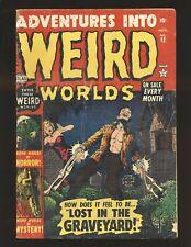 Adventures Into Weird Worlds # 12 G/VG Cond.