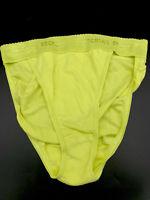 Vtg VICTORIA'S SECRET Rio Cotton Hi-Cut Brief Panty ~ Sz S