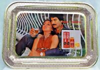 OLD ROYAL RESERVE  WHISKY ADVERTISING VINTAGE TIN TRAY GENUINE COLLECTIBLE # 17