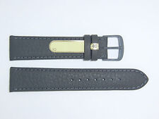"DI-Modell Genuine Cowhide Waterproof Leather 20 mm GREY Watch Band ""SPORT"""