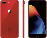 Apple iPhone 8 Plus 64GB Fully Unlocked (GSM+CDMA) AT&T T-Mobile Verizon Red