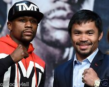 Floyd Mayweather and Manny Pacquiao / Boxing   8 x 10 GLOSSY Photo Picture