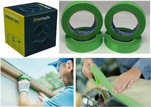 """1 inch Water Resistant Masking Tape - 1"""" Premium. PROMASK 3. Box of 36 24mmx45m."""