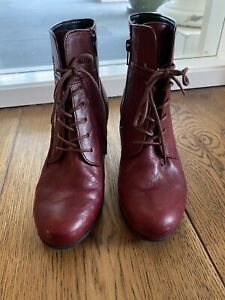 Gabor Ankle Boots Lace Up , 3.5 Uk , 36 Eur EC