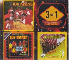 CD  - 3 En 1 El Super Show NEW Los Vaskez 20 Tracks - FAST SHIPPING !