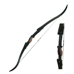 Archery 25lbs ABS Takedown Recurve Bow Right Hand Left Hand Target Game Shooting