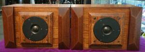 UESUGI U-BROS 26 Super Tweeter USED JAPAN Dynaudio Wood Cabinet speaker
