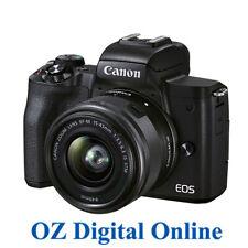 NEW Canon EOS M50 MK II (15-45 STM) Black 1 Year Au Warranty