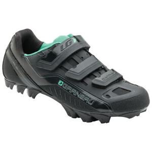 New  $99 Louis Garneau  Sapphire MTB Cycling Shoes Black Women's Sz 6 1/2  EU 37