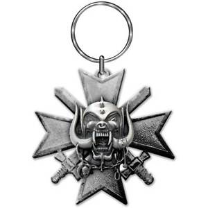 Motorhead Bad Magic Metal Keyring  45mm x 45mm   (rz)