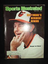 Sports Illustrated June 18, 1979 Baltimore's Resident Genius Earl Weaver